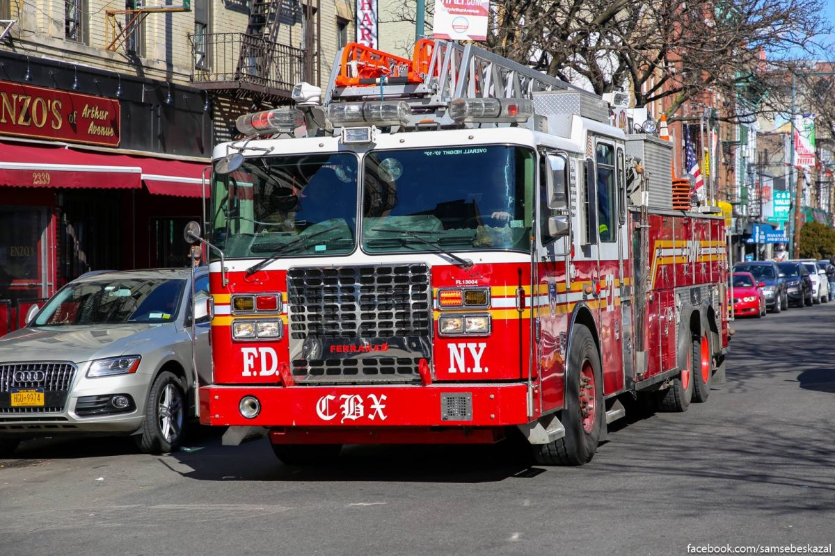 Firetruck from NYC